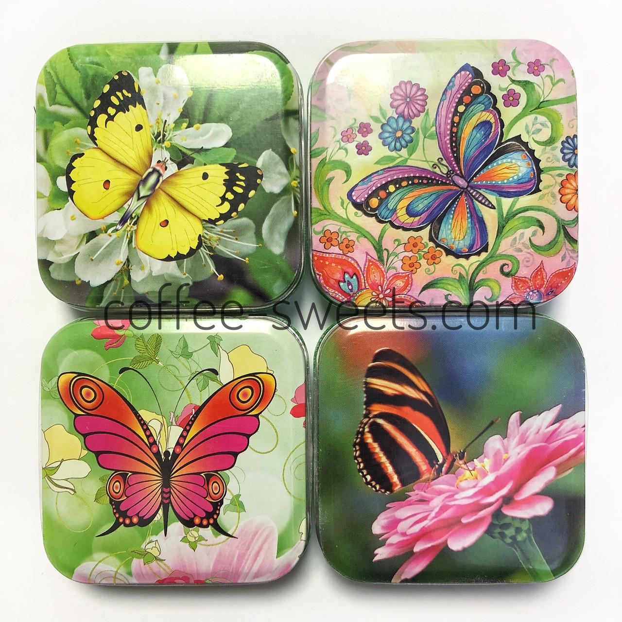 Леденцы Монпансье бабочки 60гр ж/б