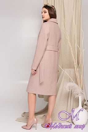 Женское кашемировое пальто весна осень (р. S, M, L) арт. К-87-73/45119, фото 2