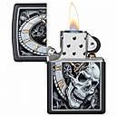 Зажигалка Zippo Skull Clock Design, 29854, фото 2