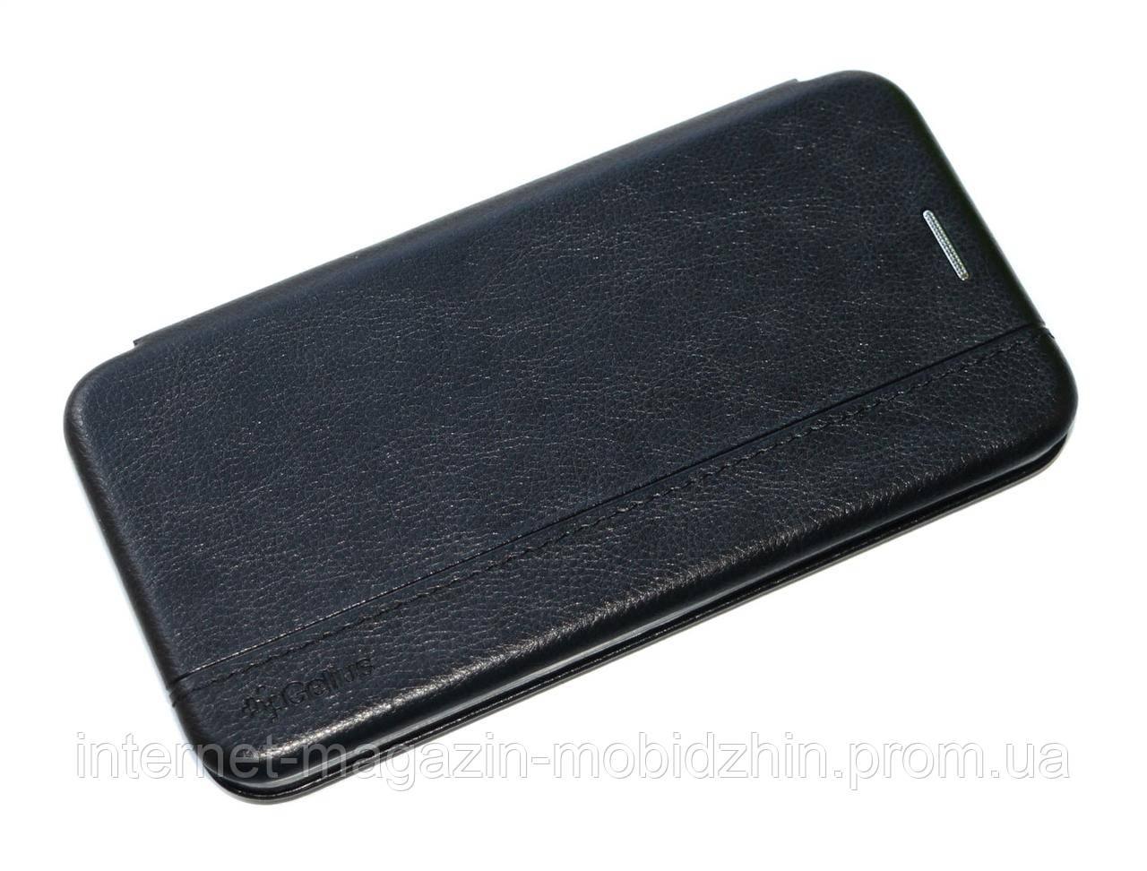 Чехол-книжка Samsung G970 Galaxy S10e черная Gelius Leather