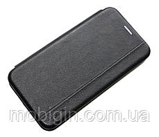 Чeхол книжка Xiaomi Mi Note 10 черная Gelius Leather Book