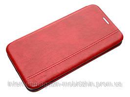 Чeхол книжка Xiaomi Mi Note 10 красная Gelius Leather Book