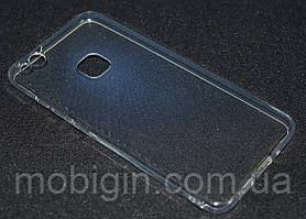 Чехол силиконовый Huawei P10 Lite, прозрачный ультра