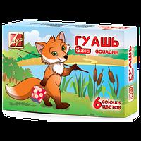 """Гуашь Луч """"Zoo"""", 6 цв., 15 мл, 125 г, 19с1251"""