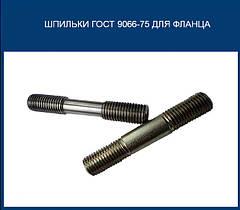 Шпильки ГОСТ 9066-75 для фланця