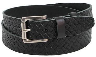 Кожаный мужской ремень для джинс Skipper 1307-40