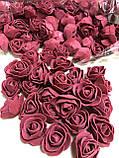 Розы для Мишек из латекса (фоамирана) 500 шт пачка, фото 3