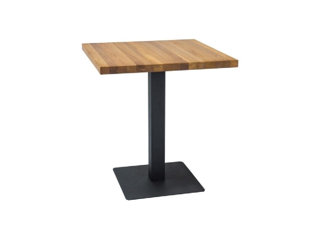 Квадратные столы для кафе баров ресторанов из массива дерева по цене от производителя
