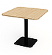 Квадратные столы для кафе баров ресторанов из массива дерева по цене от производителя, фото 7