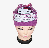 Детская шапка со стразами (WD1440) | 5 шт., фото 3