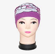 Детская шапка со стразами (WD1440) | 5 шт., фото 2