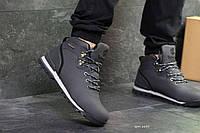 Мужские зимние кроссовки серые Timberland 6633