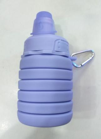 Силиконовая бутылка для воды JYAA 350мл