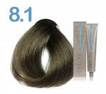 Стійка крем-фарба 3DeLuXe professional № 8-1 - світлий блондин попелястий, 100 мл