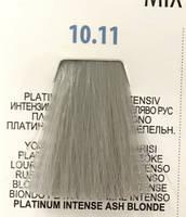 Стійка крем-фарба 3DeLuXe professional № 10-11 - платиновий блонд інтенсивно-попелястий, 100 мл