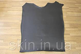 Шкіра натуральна ремінна чорного кольору, гладенька, товщина 3.6 мм, артикул СК 1732 чепрак
