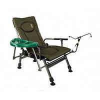 Кресло карповое складное со столиком Elektrostatyk F5R ST/P