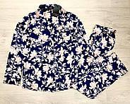 Молодежная пижама штаны рубашка с цветочным принтом Orli, фото 2