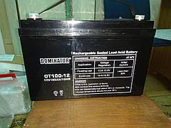 Dominator 12v 100Ah (OT100-12) Тяговый аккумулятор