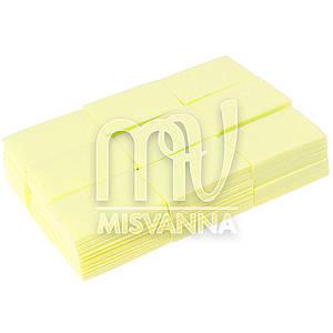 Безворсовые салфетки Special Nail 6х4см, 1000 шт плотные желтые