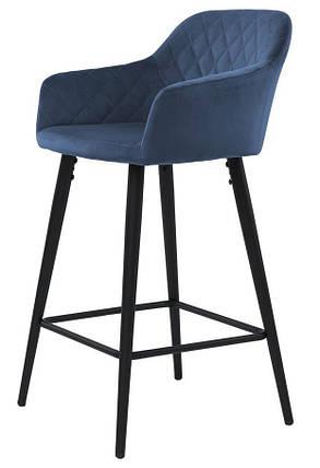 Барный стул Antiba полуночный синий TM Concepto, фото 2