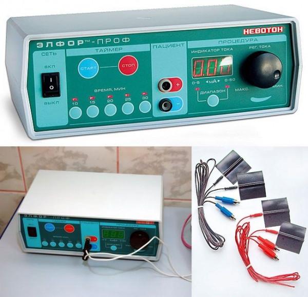 Физиотерапевтический аппарат (гальванизация и электрофорез) ЭЛФОР-ПРОФ