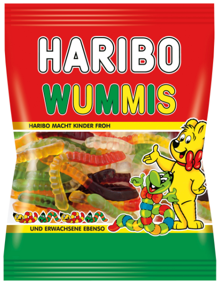 Жувальні цукерки Haribo Wummis 175 g