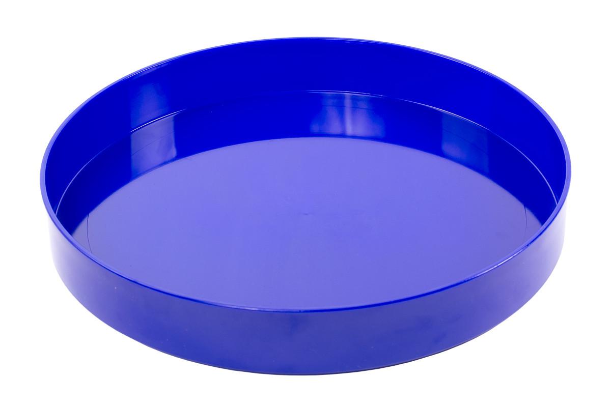 Поднос круглый пластиковый (диаметр - 365 мм, высота - 53 мм, глубина - 45мм)