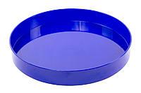 Поднос круглый пластиковый (диаметр - 365 мм, высота - 53 мм, глубина - 45мм), фото 1