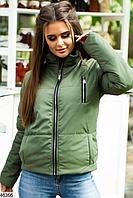 Женская матовая весенняя куртка