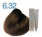 Стойкая крем-краска 3DeLuXe professional № 6-32 - тёмный блондин золотистый ирис, 100 мл
