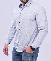 Рубашка мужская S, M, XXL длинный рукав. Турция. Молодежная турецкая рубашка трансформер