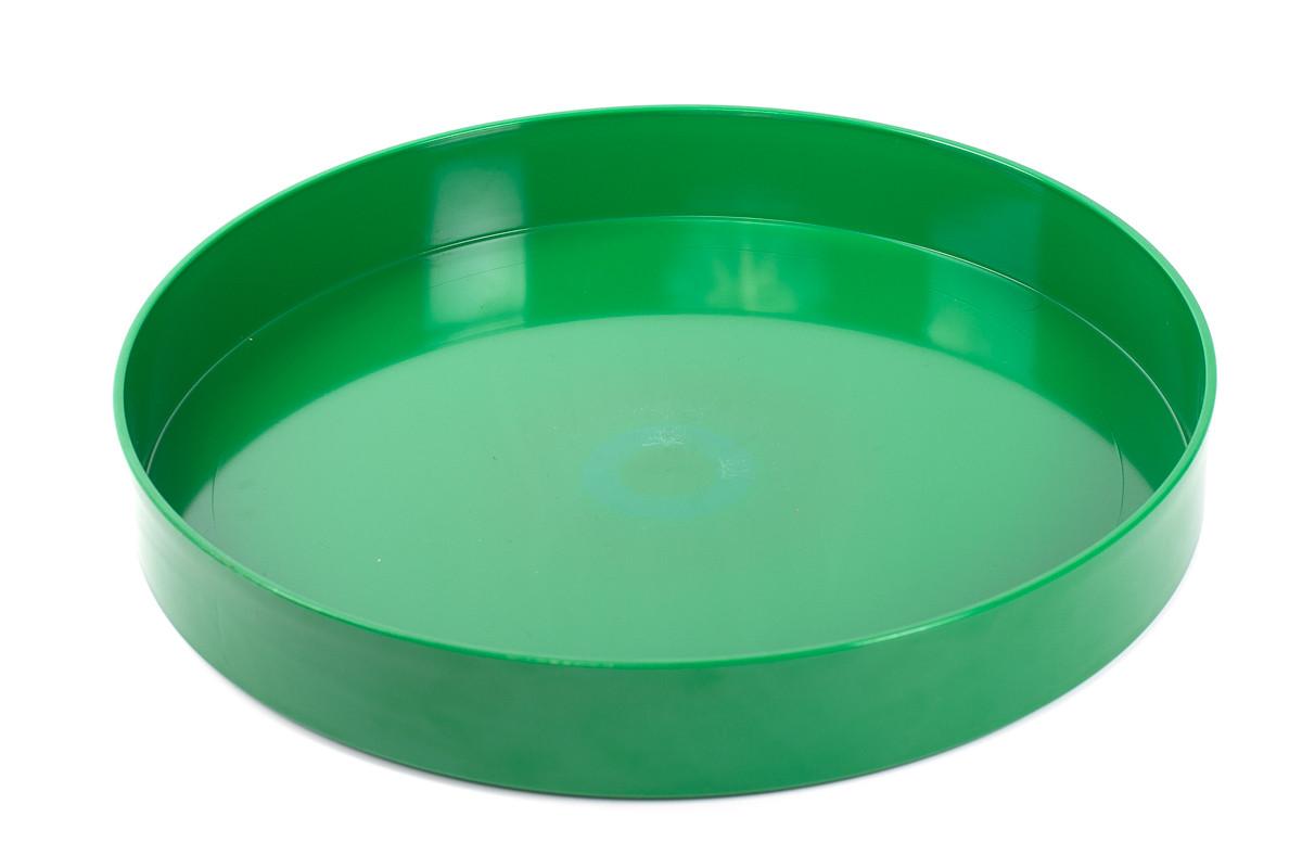 Поднос круглый пластиковый (диаметр - 335 мм, высота - 48,5 мм, глубина - 40мм)