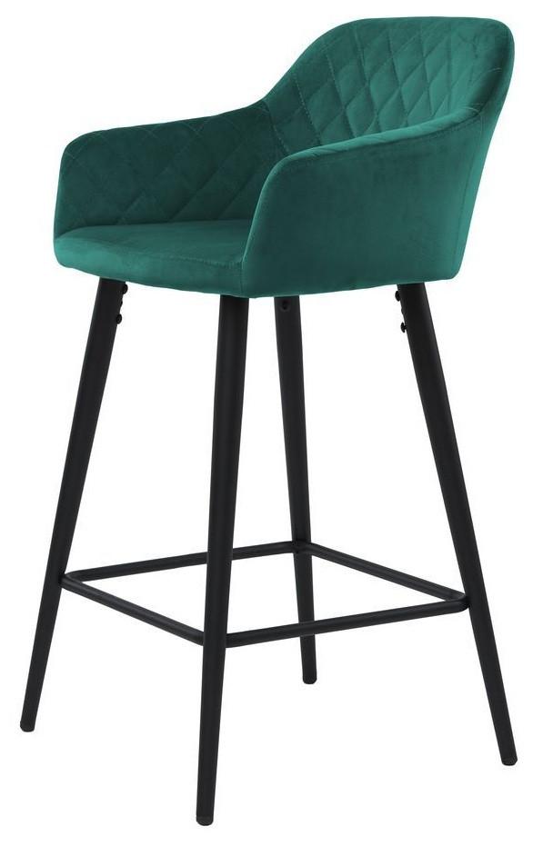 Барный стул Antiba зелёный азур TM Concepto