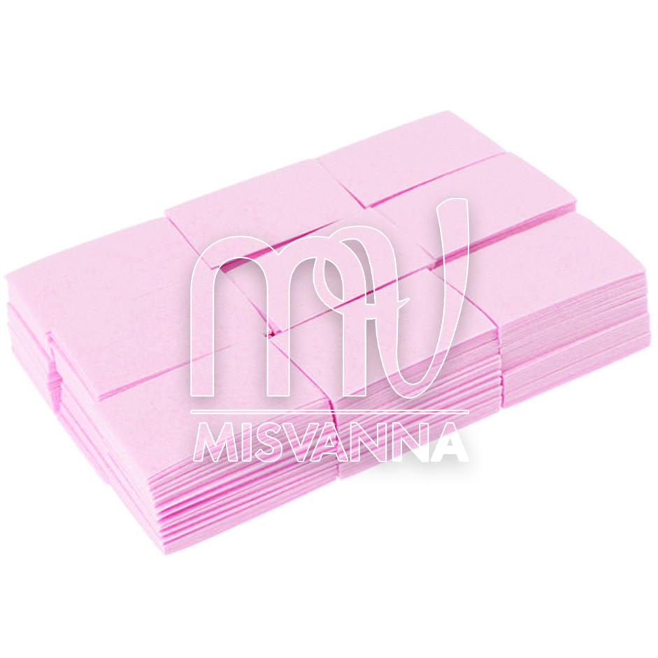 Безворсові серветки Lilly Beaute 6х4см, 800 шт щільні рожеві