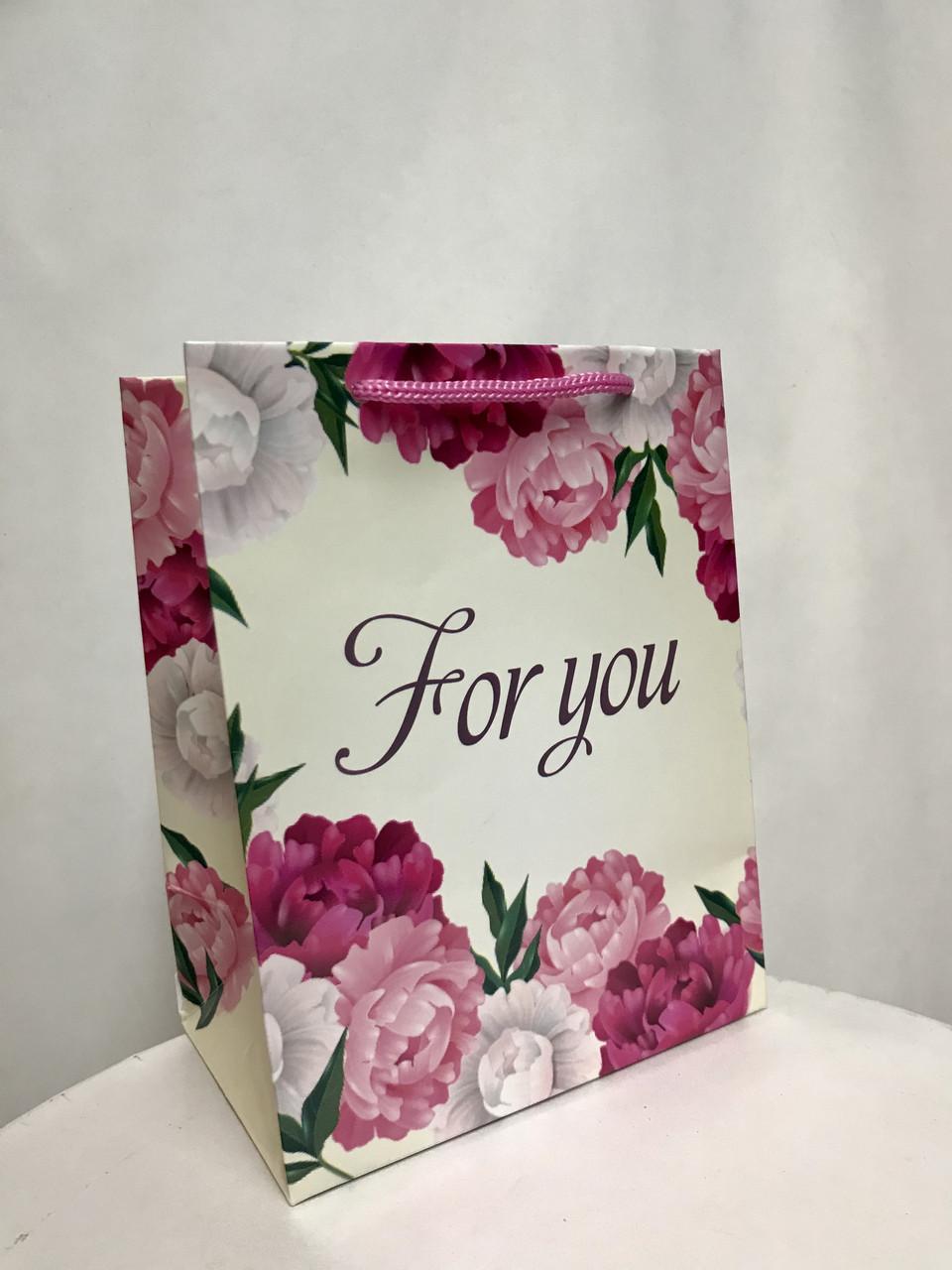 Пакет подарочный  #15(14*18*9)