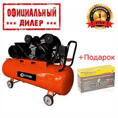 Компрессор Сталь КСР-04/100 (2.2 кВт, 400 л/мин, 100 л)
