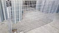 Габион: размер 0.3×1,0×2,0 м., из сетки сварной оцинкованной 50×100 мм., диаметр 3.8 мм.
