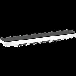Полка HANSGROHE RAINFINITY 500 1JET с форсунками 26243700