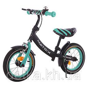 """Беговел (велобег) BALANCE TILLY 12"""" Matrix T-21259, разные цвета"""