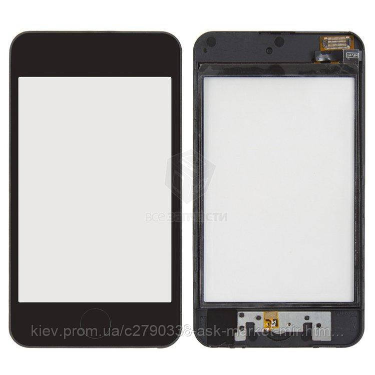 Оригинальная сенсорная панель с рамкой для Apple iPod Touch 2G