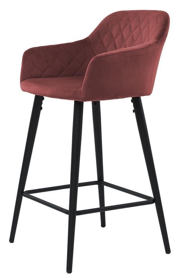 Полубарный стул Antiba гранат TM Concepto