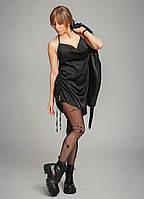Шелковое платье в бельевом стиле.