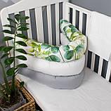 Выбери свой дизайн чехла для подушки 200см многофункциональная для сна и кормления, для беременных и деток, фото 2
