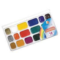 Краски акварель Луч Престиж 18с1232, 18 цветов, б/кист.