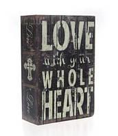 Книга-сейф с замком, металл, микс видов, MK1849, фото 1