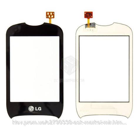 Сенсор для LG T310 Cookie Style Original Black, фото 2