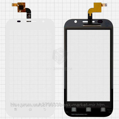 Сенсор для Prestigio MultiPhone 4044 Duo Original White, фото 2