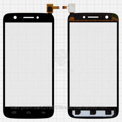 Сенсор для Prestigio MultiPhone 5508 Duo Original Black #FPC-S80212-1, фото 2