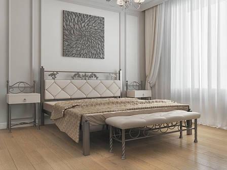 Кровать металлическая Стелла ТМ МЕТАЛЛ-ДИЗАЙН, фото 2